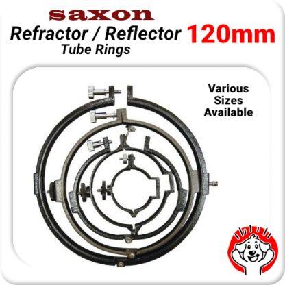 Rings for saxon 1206AZ3 Pioneer Refractor Telescope saxon 120 ED Refractor Telescope