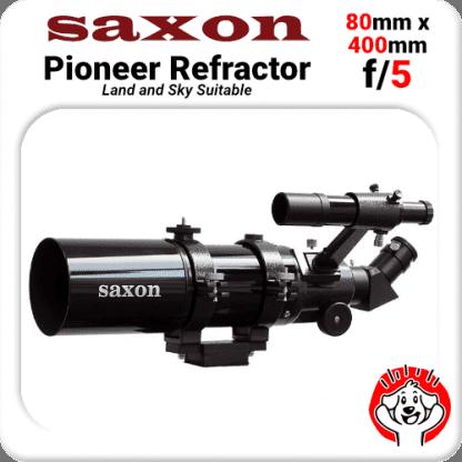 Saxon Pioneer Refractor 804, 80mm, 400mm f/5