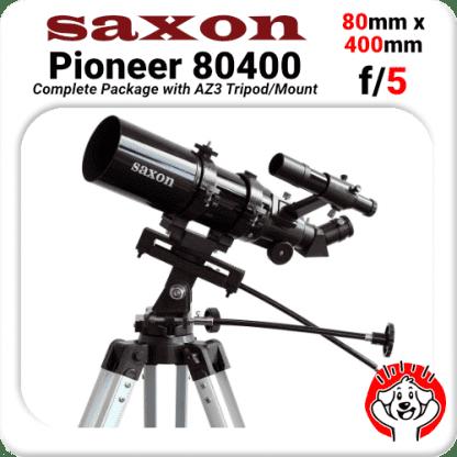 Saxon Pioneer 804AZ Package Veranda Telescope