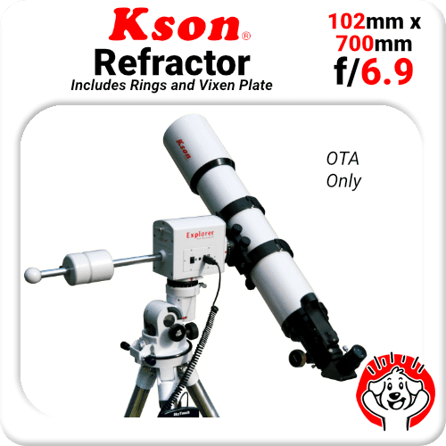 Kson A102G Doublet Refractor 102mm 600mm Visual Telescope