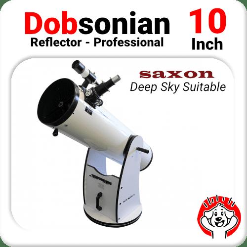 "10"" Dobsonian Telescope Reflector"