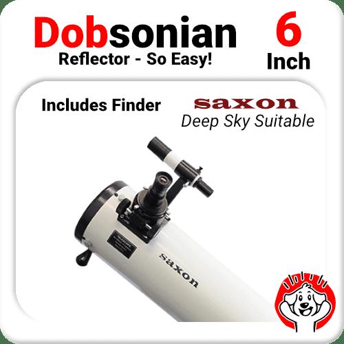 "6"" Dobsonian Telescope Reflector"