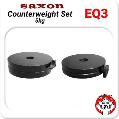 Counterweight set for Saxon Skywatcher Celestron EQ3