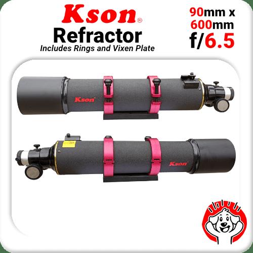 Kson f/6.5 90mm 600mm Refractor