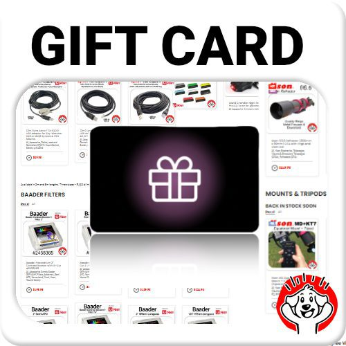 Astronomy Gift Card