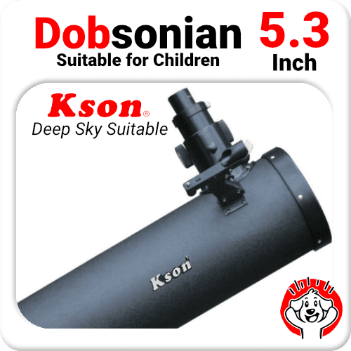 "5.3"" Dobsonian Telescope Reflector"