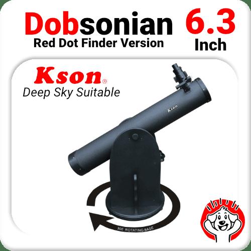 "6.3"" Dobsonian Telescope Reflector"
