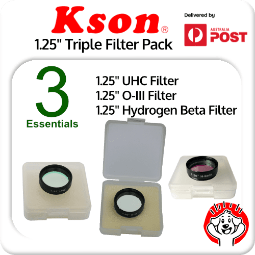 Kson Triple Pack 1.25 Inch