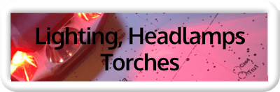 Astronomy Lighting, Headlamps and Torches