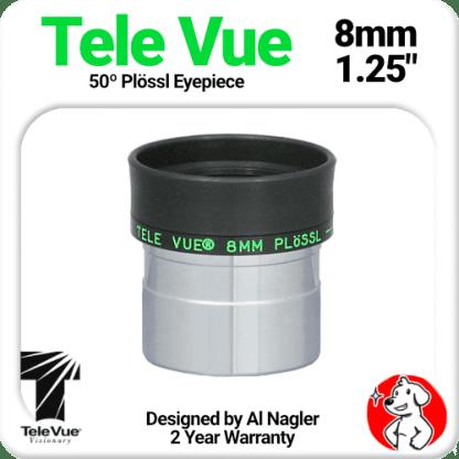 Televue Tele Vue 8mm Plossl Eyepiece