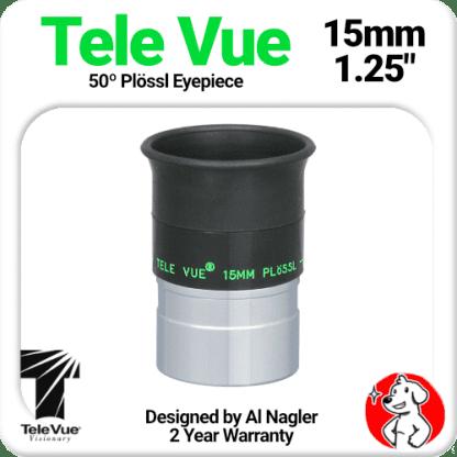 Televue Tele Vue 15mm Plossl Eyepiece