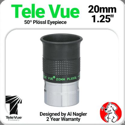 Televue Tele Vue 20mm Plossl Eyepiece