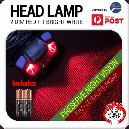 Best Red LED Headlamp Nightvision Astronomy Dim